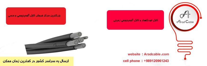 کابل خودنگهدار 95*4