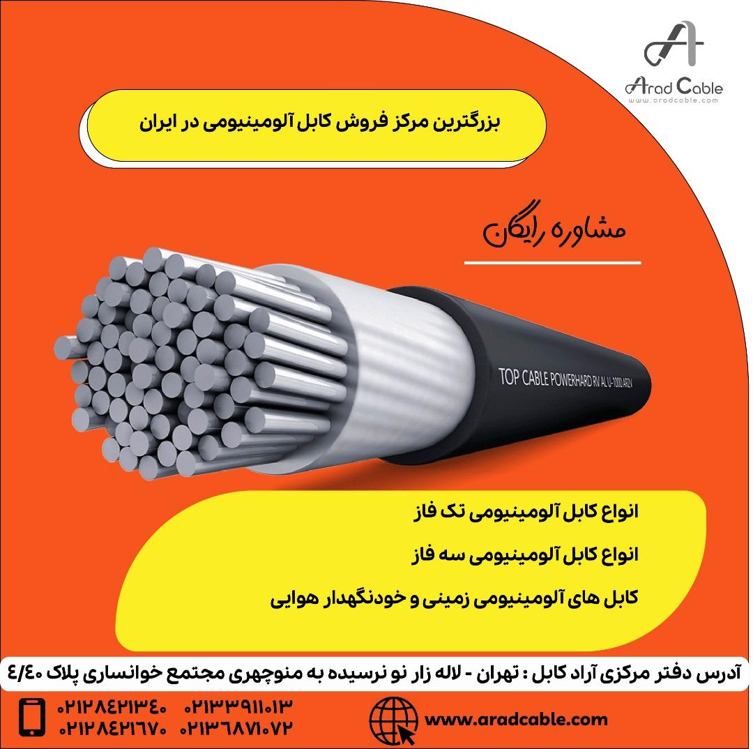 کابل آلومینیومی ماهان 185*1